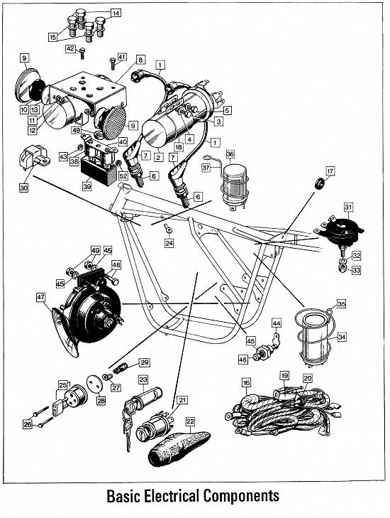 Norton Parts Drawings